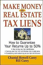 Make Money in Real Estate Tax Liens~~HOW TO GUARANTEE YOUR RETURNS UP TO 50%