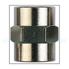1/4F x 1/4F Threaded Airline Connection Bushing -  Quantity: 2