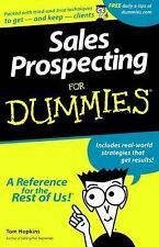 Sales Prospecting For Dummies Hopkins, Tom Paperback