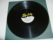 """JOHN LEE HOOKER """"EVERYBODY'S BLUES"""" SPECIALTY SP-528 EXCELLENT 1954 BLUES 78"""