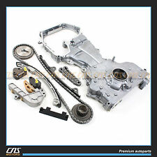 02-07 FITS Nissan Altima Sentra 2.5L QR25DE Timing Chain Kit w/ Oil pump