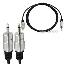 5Ft Premium 3.5mm 1/8 male Jack To male plug extension Audio OFC Cable Ipod Mp3