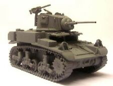 Milicast BA51 1/76 Resin WWII US M3A1 Light Tank