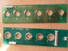 2 Pachislo Slot Machine Light Boards From Thunderbirds Parts FF0202-01 FH0202-01