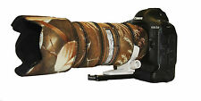 Canon 70 - 200mm f2.8 IS Mk1 Camouflage Neoprene lens protection cover Harvest