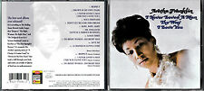 CD 14T ARETHA FRANKLIN I NEVER LOVED A MAN THE WAY I LOVE YOU 1995 EUROPE
