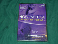 * NEW SEALED * HOOPNOTICA HOOPDANCE WORKOUT BEGINNER LEVEL 2 DVD * FITNESS DANCE