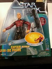1997 Playmates Star Trek Captain Jean-Luc Picard Galactic Gear New in Box