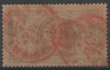 """FRANCE STAMP TIMBRE N° 33 """" NAPOLEON III 5F """" OBLITERE CACHET A DATE ROUGE  N136"""