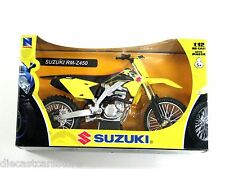 NEW RAY 2014 SUZUKI RM-Z450 DIRT BIKE 1/12 YELLOW 57643