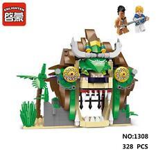 Enlighten Pirates Legendary 1308 Lion Prison Building Block Toy lego Compatible