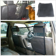 "Pet Safety Net Car SUV Truck Van Seat Mesh Dog Barrier Safe Travel Black 45""X24"""