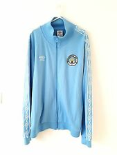 Manchester City Track Top Jacket. XL. Umbro. Blue Adults Man Long Sleeves Coat.