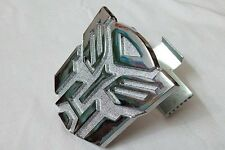 Auto Car Metal front hood grille decal Emblem Transformer Autobot Badge