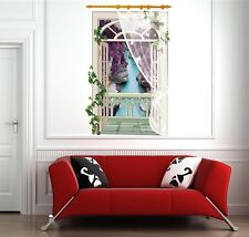 3D Window Mountain View Wall Stickers,Wall Decals SK_FUYY_A