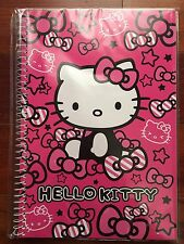 Sanrio Hello Kitty Pink Bow Notebook