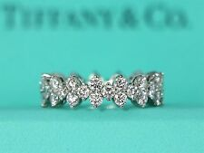 $14,500 Tiffany ARIA Platinum Full Round 2.67ct Diamond Wedding 6.3mm Band Ring