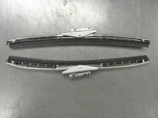 """NORS JEEP CJ 11"""" WIPER BLADES W/HEAVY DUTY METAL FRAME SOLD AS A PAIR(2) '68-'86"""