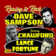 DAVE SAMPSON / JIMMY CRAWFORD / LANCE FORTUNE CD Raring To Rock
