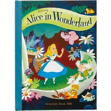 2016 Alice in Wonderland Schedule Book Monthly Planner B6 Disney Hard Cover