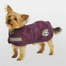 "BRAND NEW ~ ** MASTA ** PURPLE FLEECE DOG COAT JACKET 22""  MEDIUM/LARGE DOG"
