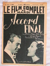 FILM COMPLET 2273 (1939) ACCORD FINAL JULES BERRY KATE DE NAGGY