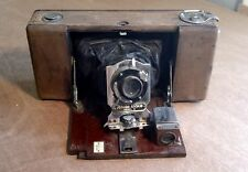 Wooden Junior Ansco Model B Camera, Antique Vintage, Wood Camera