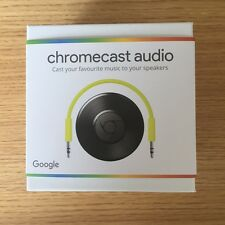 Google Chromecast Audio Media Music WIFI Wireless Streamer - Brand New Sealed