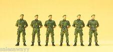 Preiser 16831 Infanteristen stehend, Barett, Bundeswehr, H0