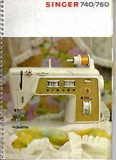 SINGER 740-760-Libretto istruzioni e manuten macchina per cucire copia a colori.