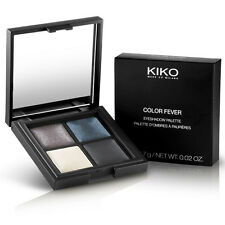Kiko Color Fever 4 Baked Eyeshadow Palette Wet & Dry Use Assorted colors