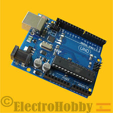 Clone Uno R3 - 100% Compatible - ATmega328P DIP for Arduino - Latest version