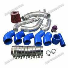 CXRacing Stock Intercooler Piping +  Intake Kit w/BOV For 2010+ Kia Optima 2.0T