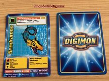 SEADRAMON CARD DIGIMON CP-06 BANDAI 1999