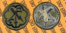 US Army 207th Military Intelligence Brigade OD Green & Black patch m/e