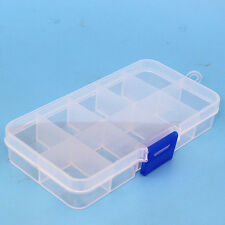 Electronic Component Parts Kits Plastic Storage Box DIY Box case 10 Grids