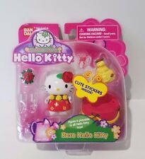 Hello Kitty Sanrio Bandai Dream World Garden Party Rose Theme Playset New Toy