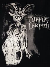 Corpus Christii Black Metal Baphobitch T-Shirt Luciferian Frequencies Rising
