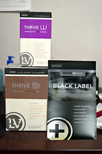 Le-Vel Thrive Women Pack  Vitamins, Black DFT Patches & Chocolate Shakes