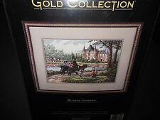 "Dimensions Gold Collection ""M'lady's Chateau"" Counted Cross Stitch Kit #3790"