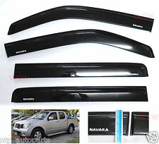 WIND SHIELD AIR GUARD FOR 4 DOOR FOR NISSAN NAVARA D40 UTE 05 06 07 08 09 10-14