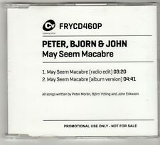 (GO951) Peter, Bjorn & John, May Seem Macabre - 2011 DJ CD