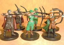 Dungeons & Dragons Miniatures Lot  Elf Warrior Militia Archer Sharn !!  s108