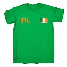 Bandera De Irlanda Camiseta Irlandés Deporte Futbol Rugby T-Shirt gaélico Regalo De Cumpleaños