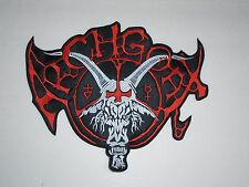 ARCHGOAT EMBROIDERED LOGO BLACK DEATH METAL BACK PATCH