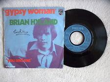"""45T 7"""" BRIAN HYLAND """"Gypsy woman"""" PHILIPS 6098 003 FRANCE §"""