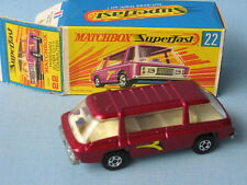Lesney Matchbox Superfast Freeman City Commuter Granate En Caja
