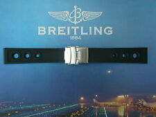 BREITLING 202S 20-18 BLACK OCEAN RACER DIVERS WATCH BAND STRAP DEPLOYMENT BUCKLE