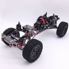 Cool CNC Aluminum 313mm Wheelbase Chassis W/ Carbon Frame 1/10 Axial SCX10