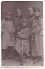 Foto AK Vogesen teile der bayrischen Feldpostmannschaft die hohen Offiziere